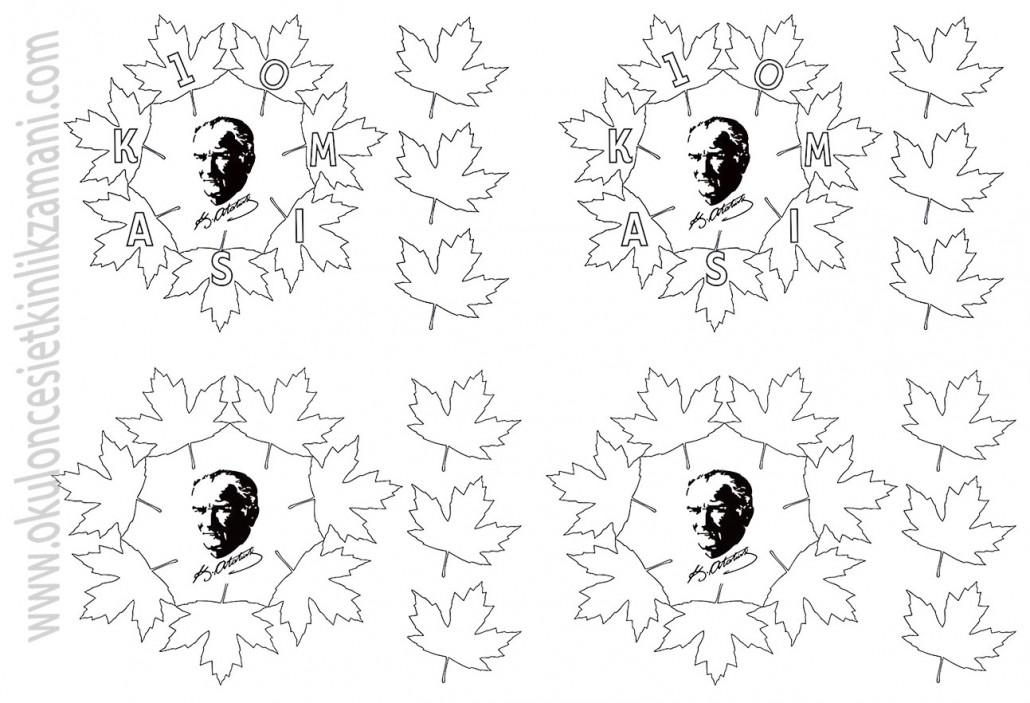 Ataturk Anma Haftasi Okul Oncesi Etkinlik Zamani