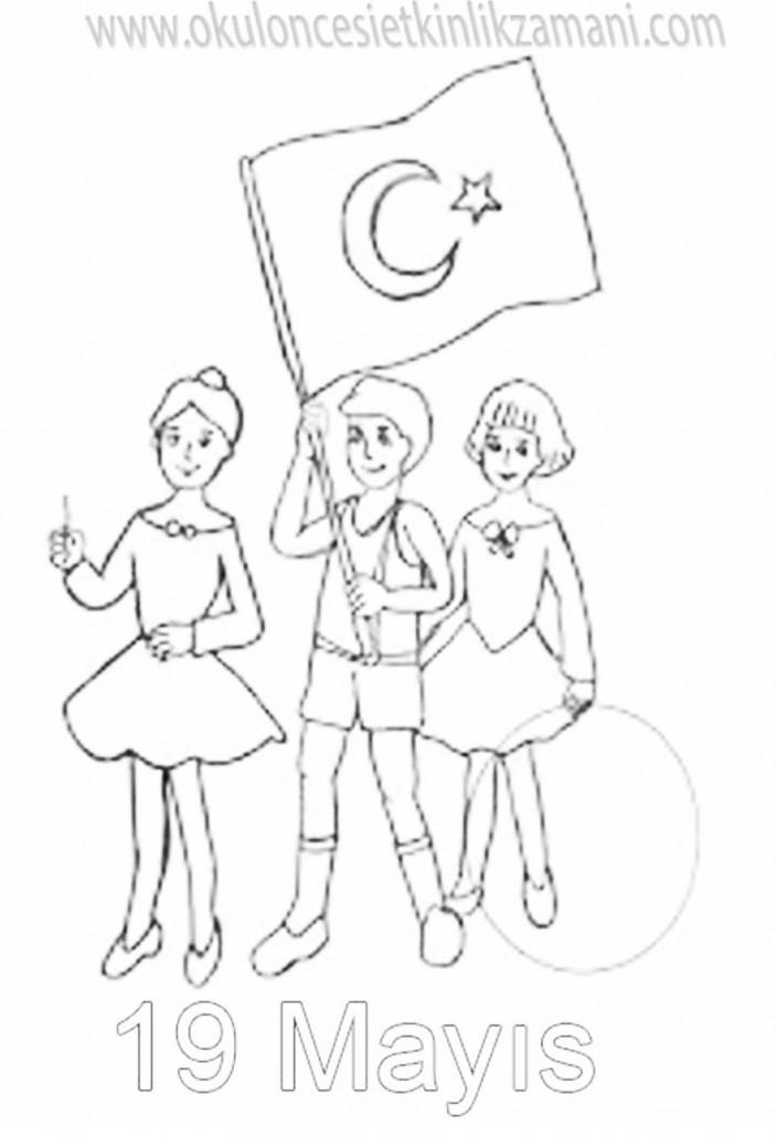 19 Mayis 1919 Okul Oncesi Etkinlik Zamani