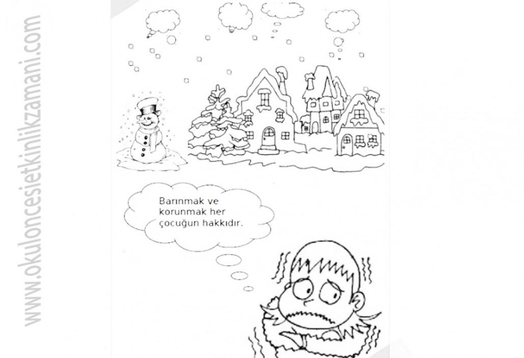 Cocuk Haklari Okul Oncesi Etkinlik Zamani