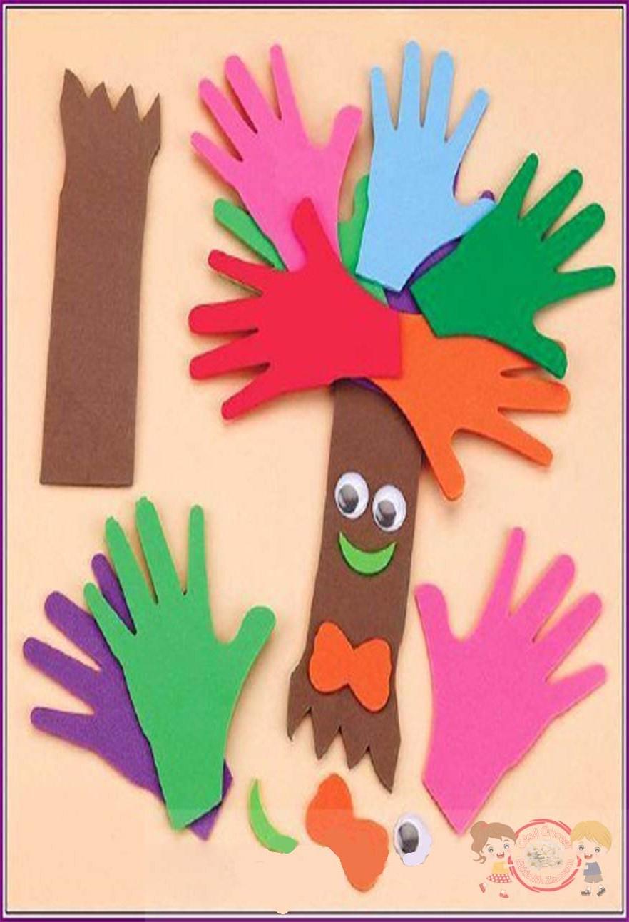 Ellerden Ağaç Okul öncesi Etkinlik Zamanı