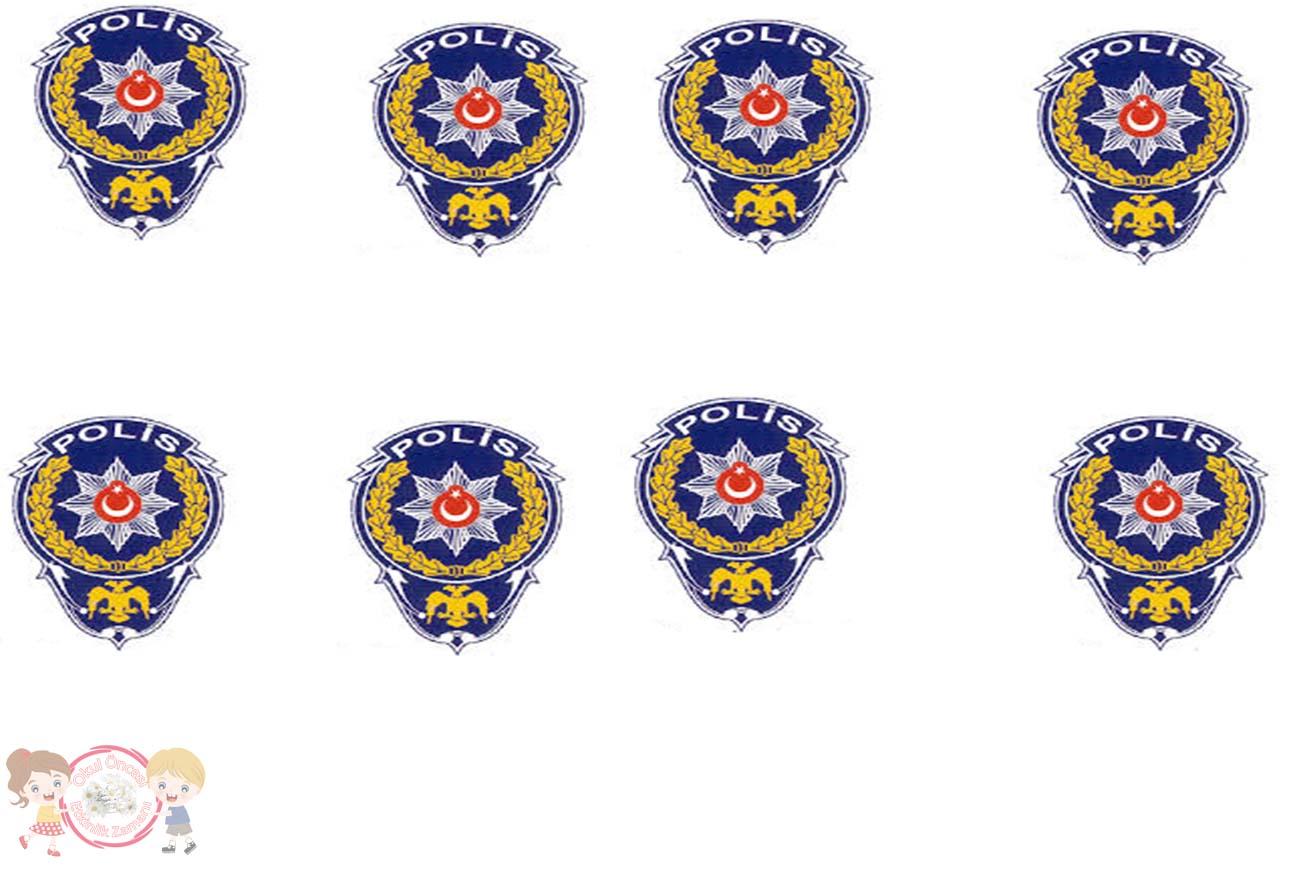 Polis Logosu Okul Oncesi Etkinlik Zamani