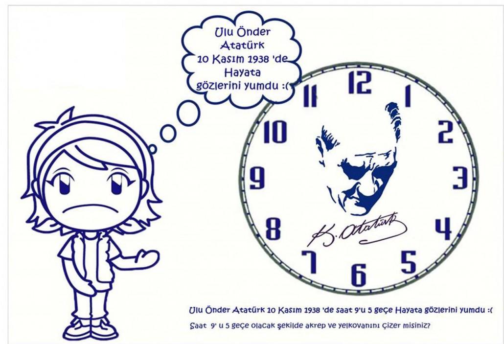 Saat Dokuzu Bes Gece Okul Oncesi Etkinlik Zamani