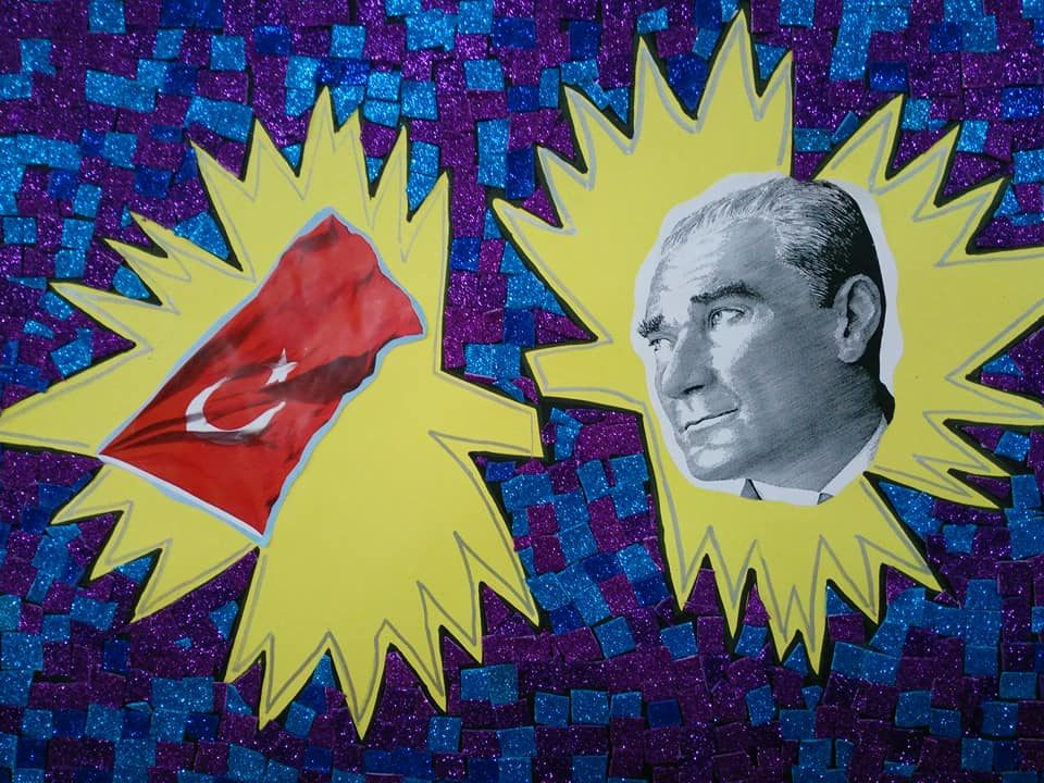 Mozaik Cumhuriyet Calismasi Okul Oncesi Etkinlik Zamani