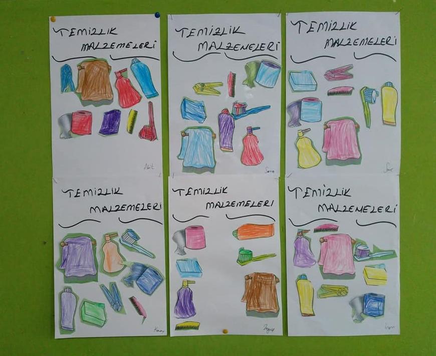 Temizlik Malzemeleri Okul Oncesi Etkinlik Zamani