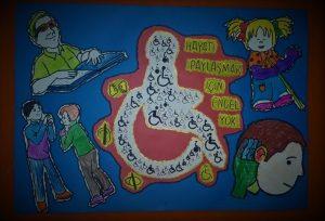 engelliler günü -grup çalışması-boyama