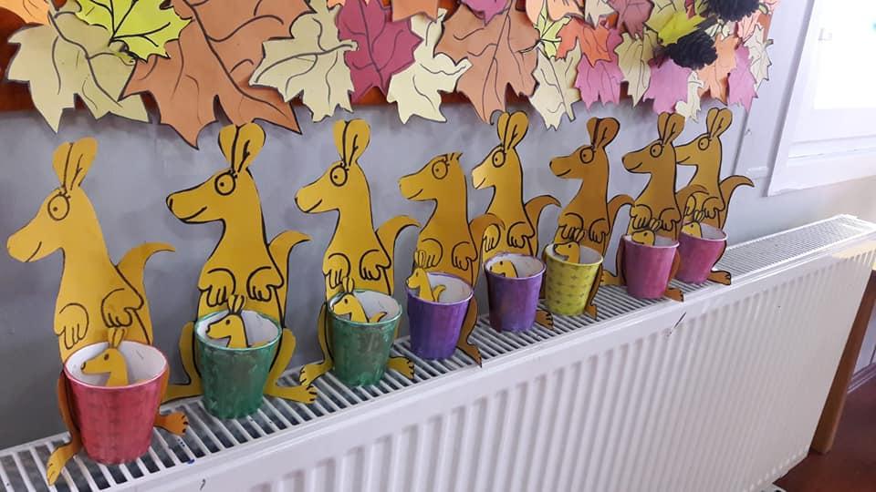 Kanguru Okul Oncesi Etkinlik Zamani