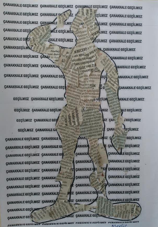 Gazete Yirtma Yapistirma Asker Okul Oncesi Etkinlik Zamani